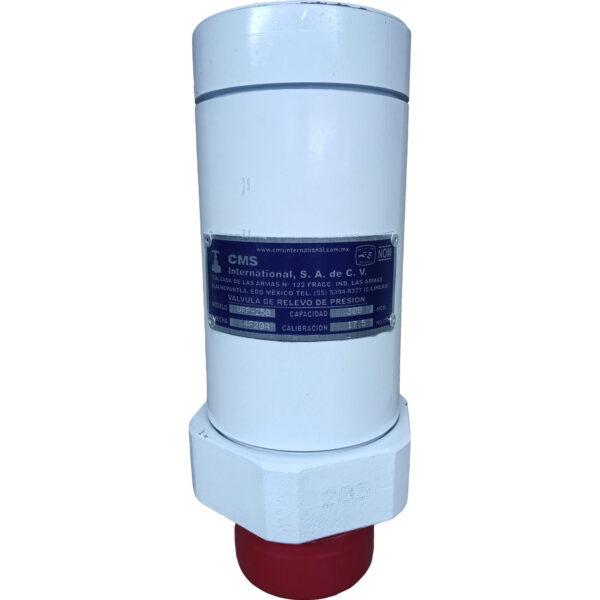valvula de seguridad de alivio de presion 2-1-/2 pulgada cms